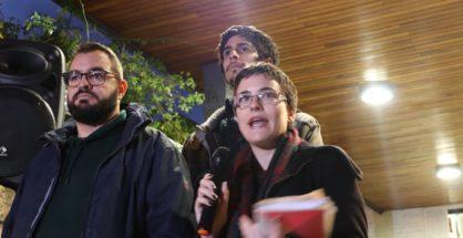 Acto contra las casas de apuestas en Torrelodones