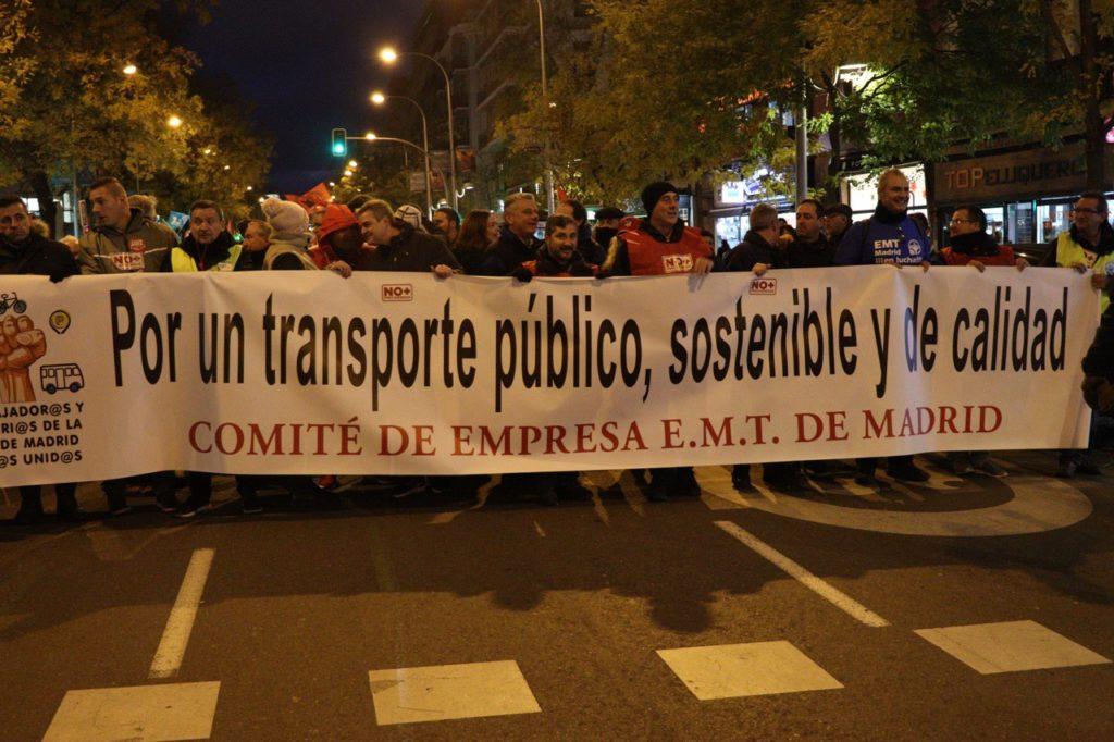 mani transporte publico