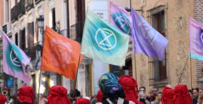 Sensibilizando a la gente de Madrid ante el inminente colapso climático
