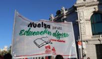 Manifestación por una vuelta segura a los colegios