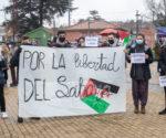 Concentración en Collado Villalba por la libertad del Sáhara